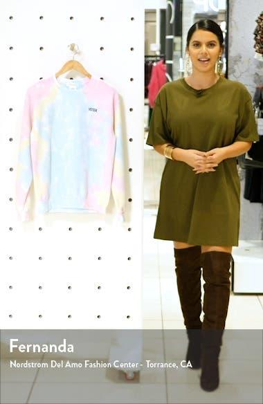 VOTE Collection Tie Dye Sweatshirt, sales video thumbnail