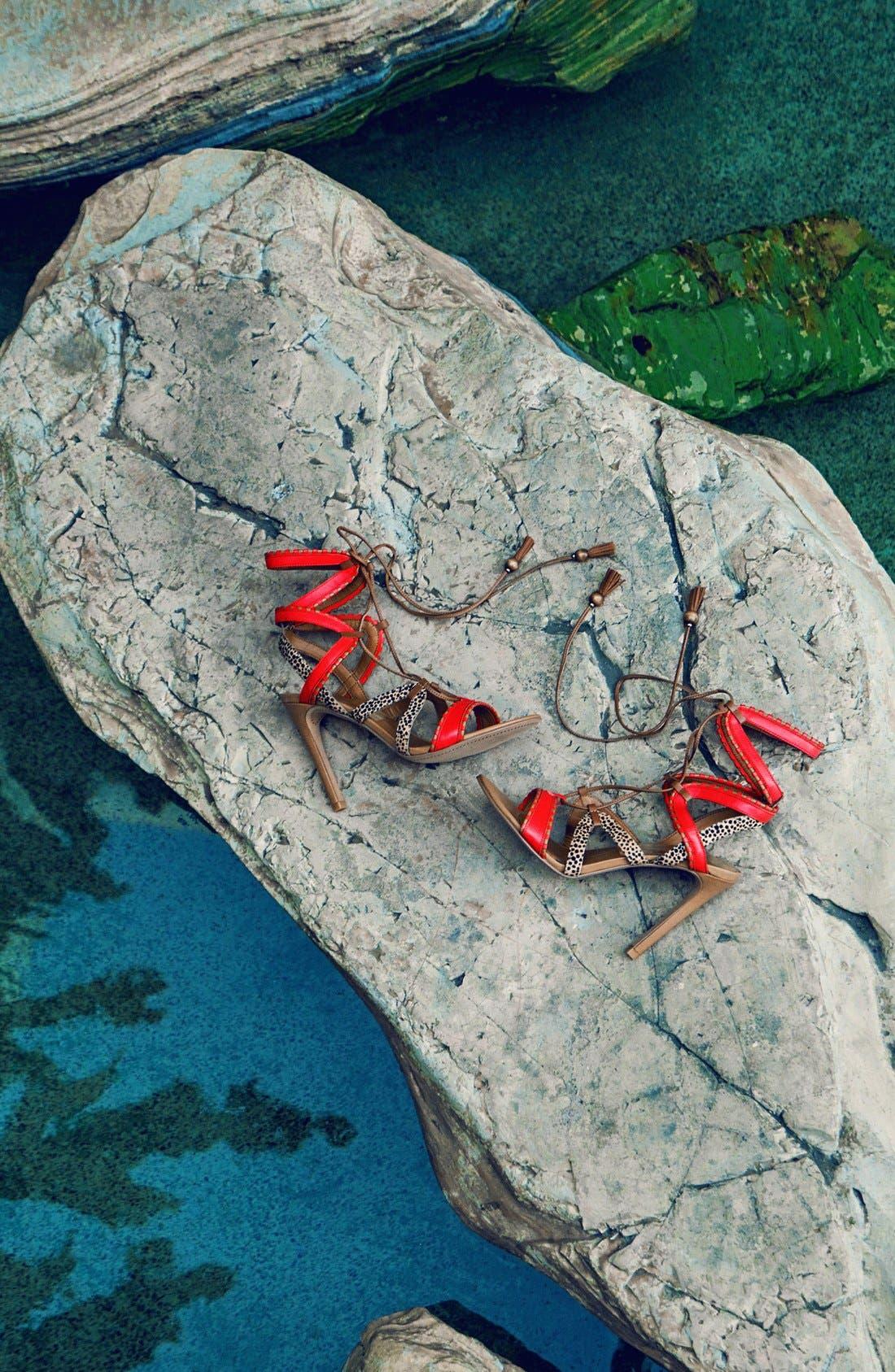 ,                             'Haven' Lace-Up Sandal,                             Alternate thumbnail 14, color,                             602
