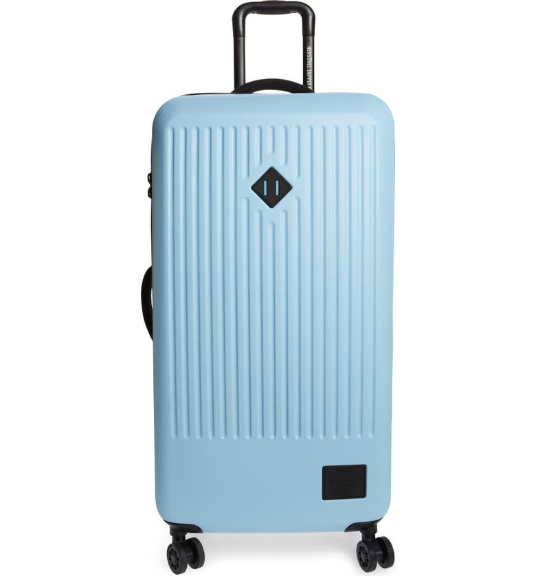 HERSCHEL SUPPLY CO. Trade 34-Inch Large Wheeled Packing Case, Main, color, AIRY BLUE