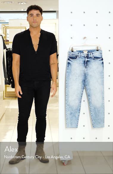 El Matador French Slim Crop Jeans, sales video thumbnail