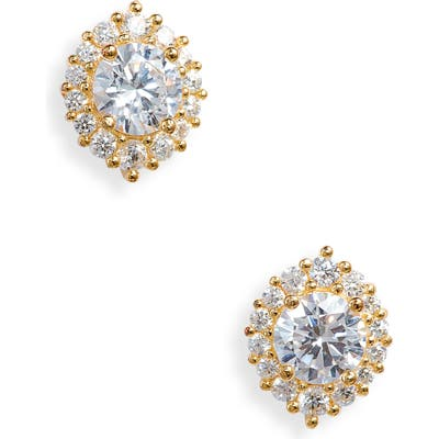 Nordstrom Marquise Halo Stud Earrings