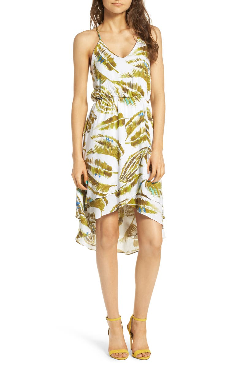 EVERLY Ruffle Hem Dress, Main, color, 300