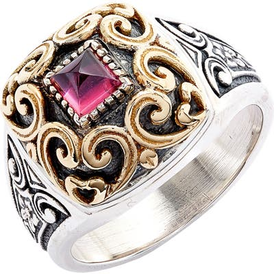 Konstantino Stone Signet Ring