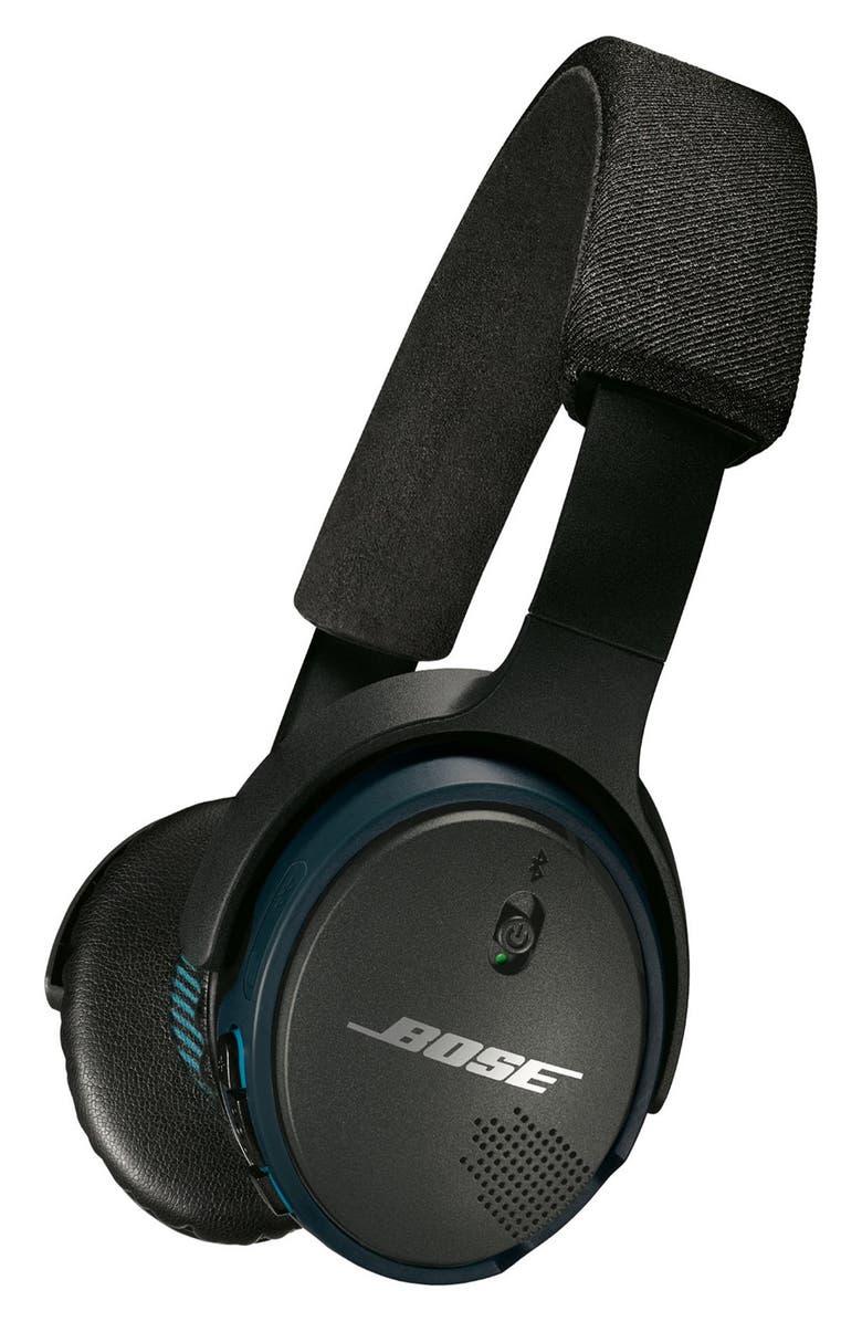 BOSE<SUP>®</SUP> SoundLink<sup>®</sup> Bluetooth<sup>®</sup> On-Ear Headphones, Main, color, 002