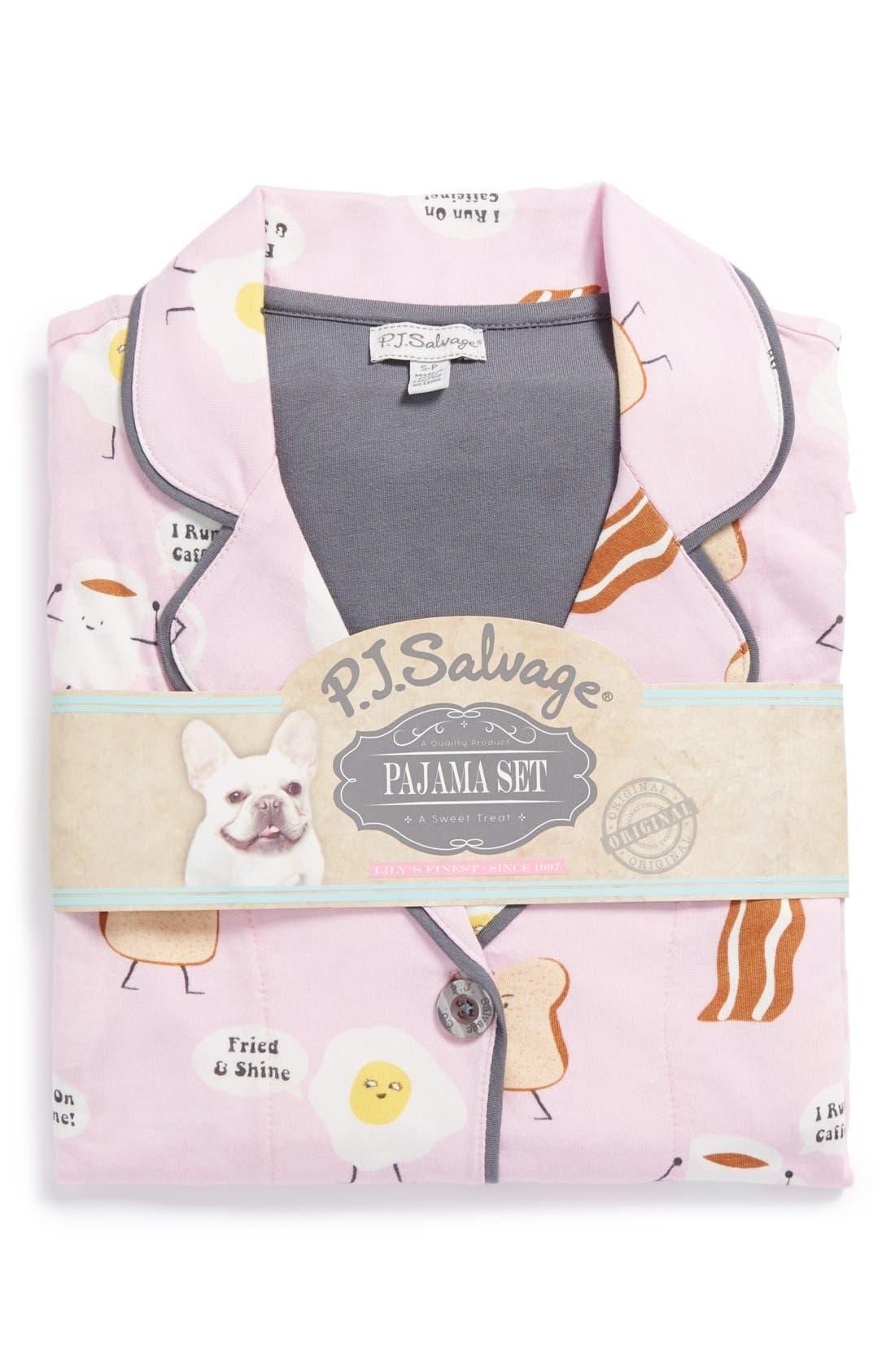 ,                             Print Jersey Pajamas,                             Alternate thumbnail 34, color,                             630