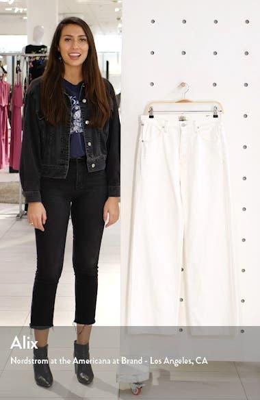 Flavie High Waist Trouser Jeans, sales video thumbnail