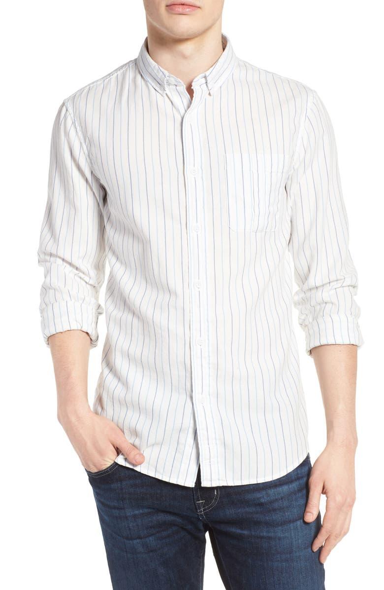 1901 Stripe Oxford Shirt, Main, color, 450
