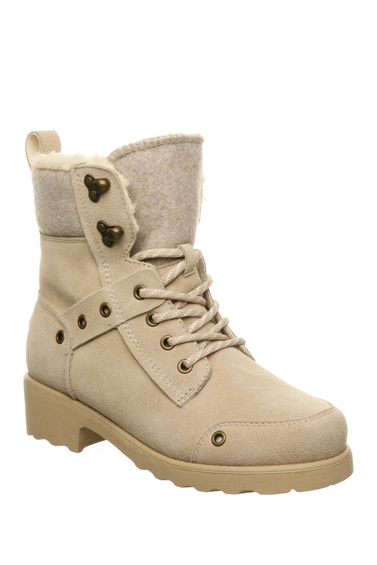 Image of BEARPAW Alicia Faux Shearling Lace-Up Boot