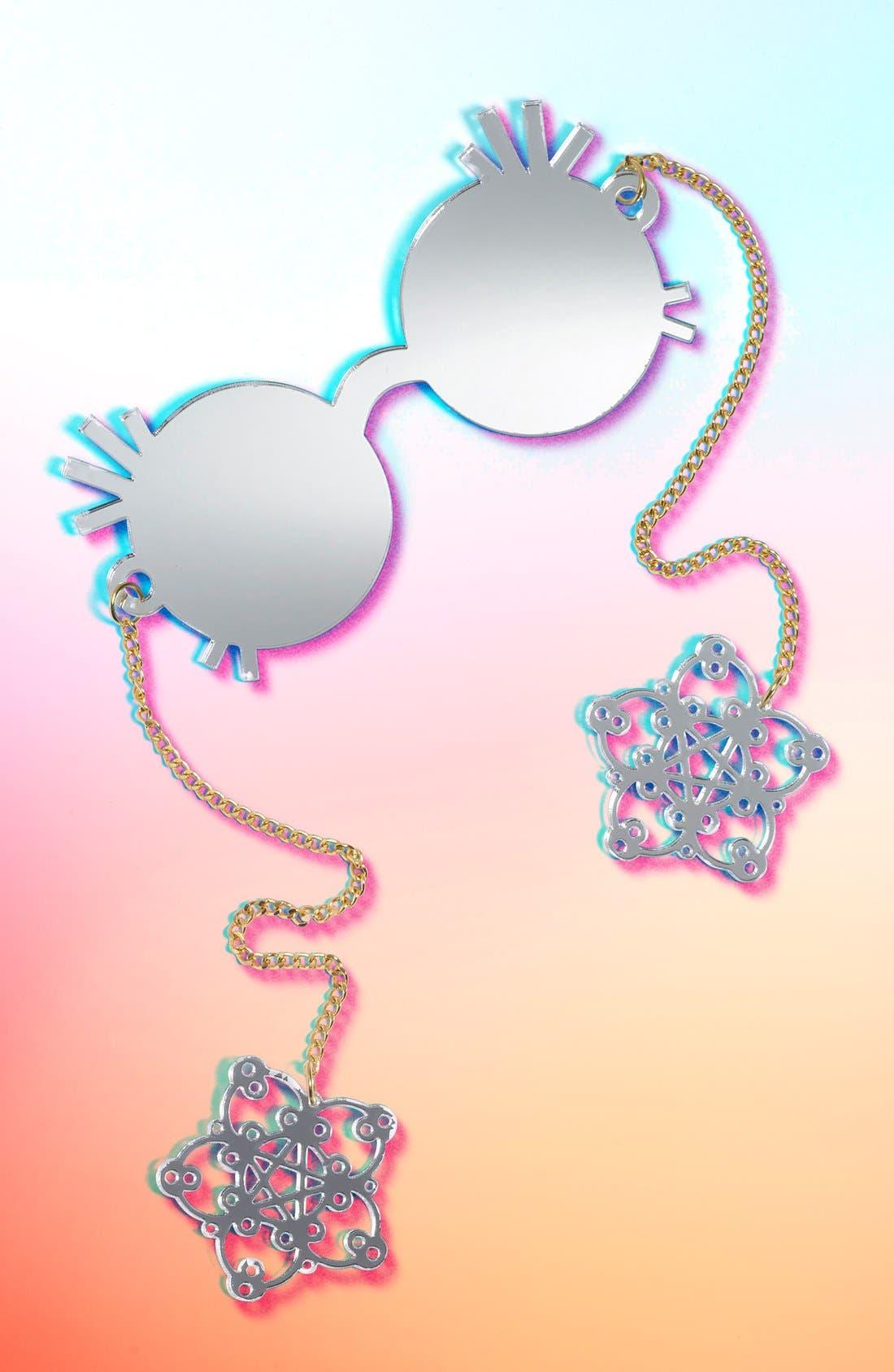 ,                             55mm Novelty Sunglasses,                             Main thumbnail 4, color,                             040