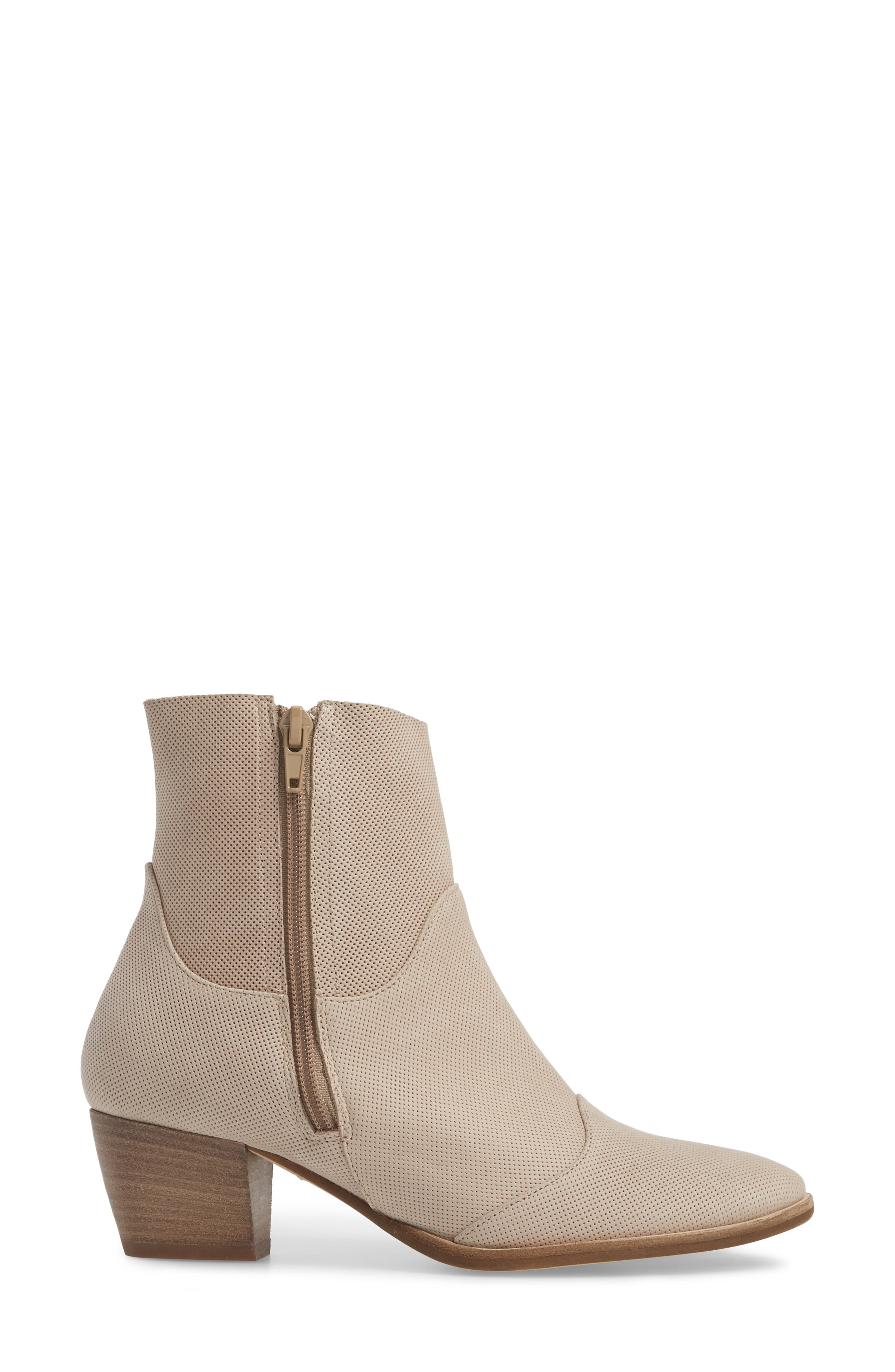 ,                             Robin Bootie,                             Alternate thumbnail 3, color,                             NATURAL LEATHER