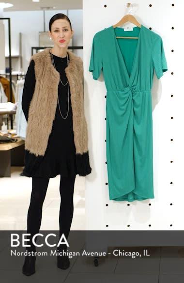 Knot Front Midi Dress, sales video thumbnail
