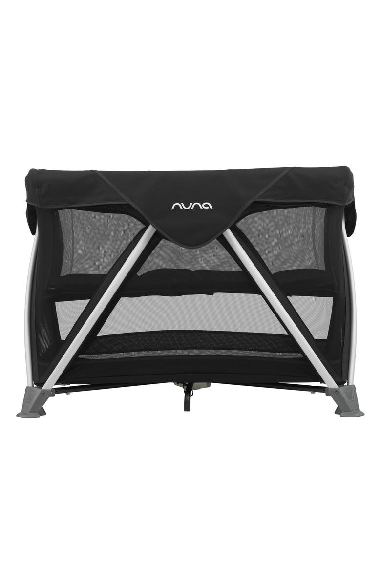 NUNA SENA<sup>®</sup> Aire Travel Crib, Main, color, CAVIAR