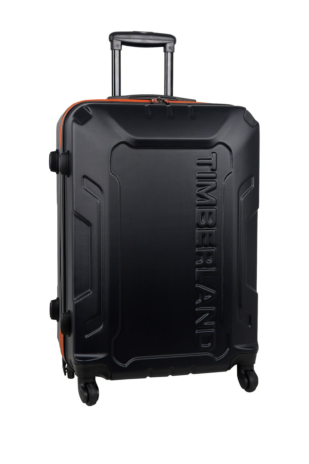 "Image of Timberland Blue Boscawen 25"" Hardside Spinner Suitcase"