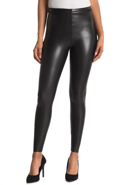 Image of Seven7 Faux Leather Pull On Leggings