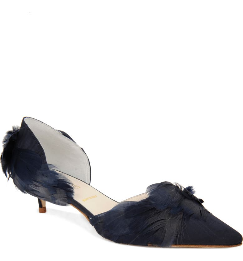 SOMETHING BLEU Bunty Pump, Main, color, NAVY MORIE