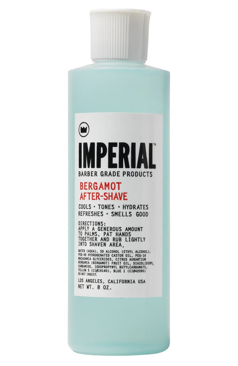 IMPERIAL BARBER GRADE PRODUCTS<SUP>™</SUP> 'Bergamot' After-Shave, Main, color, 000