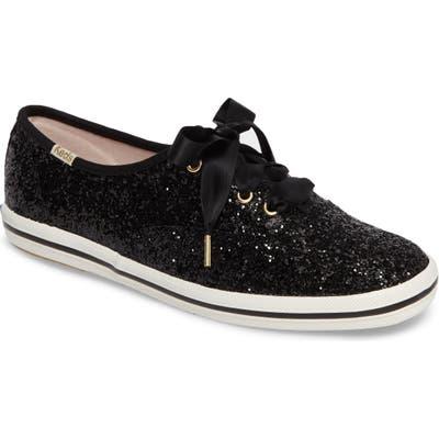 Keds X Kate Spade New York Glitter Sneaker, Black