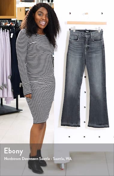 Holly Release Hem Ankle Flare Jeans, sales video thumbnail