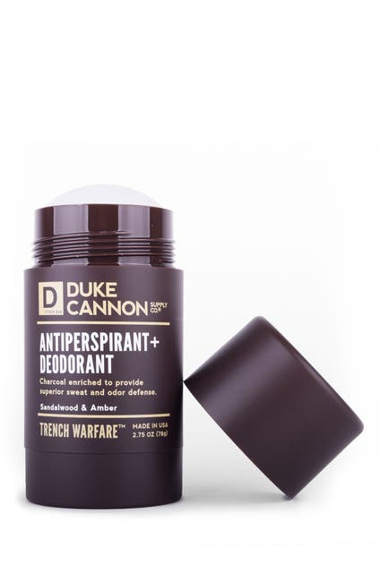 Image of DUKE CANNON Trench Warfare Antiperspirant + Deodorant - Sandalwood + Amber