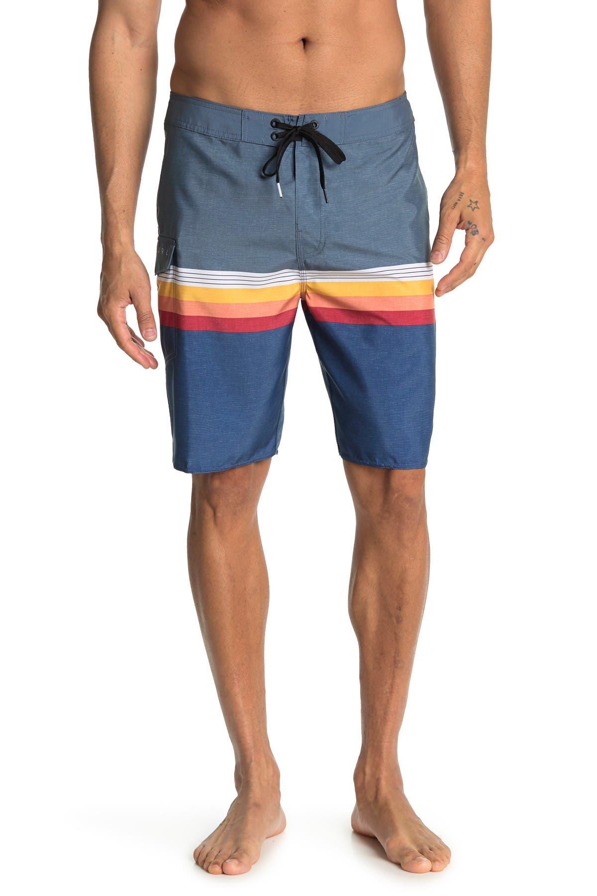 Image of Rip Curl Beach Street Striped Boardshorts