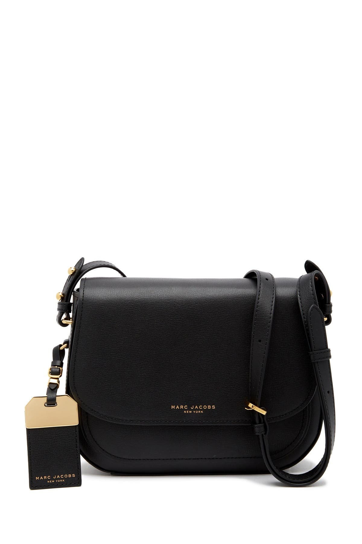 Image of Marc Jacobs Rider Leather Crossbody Bag