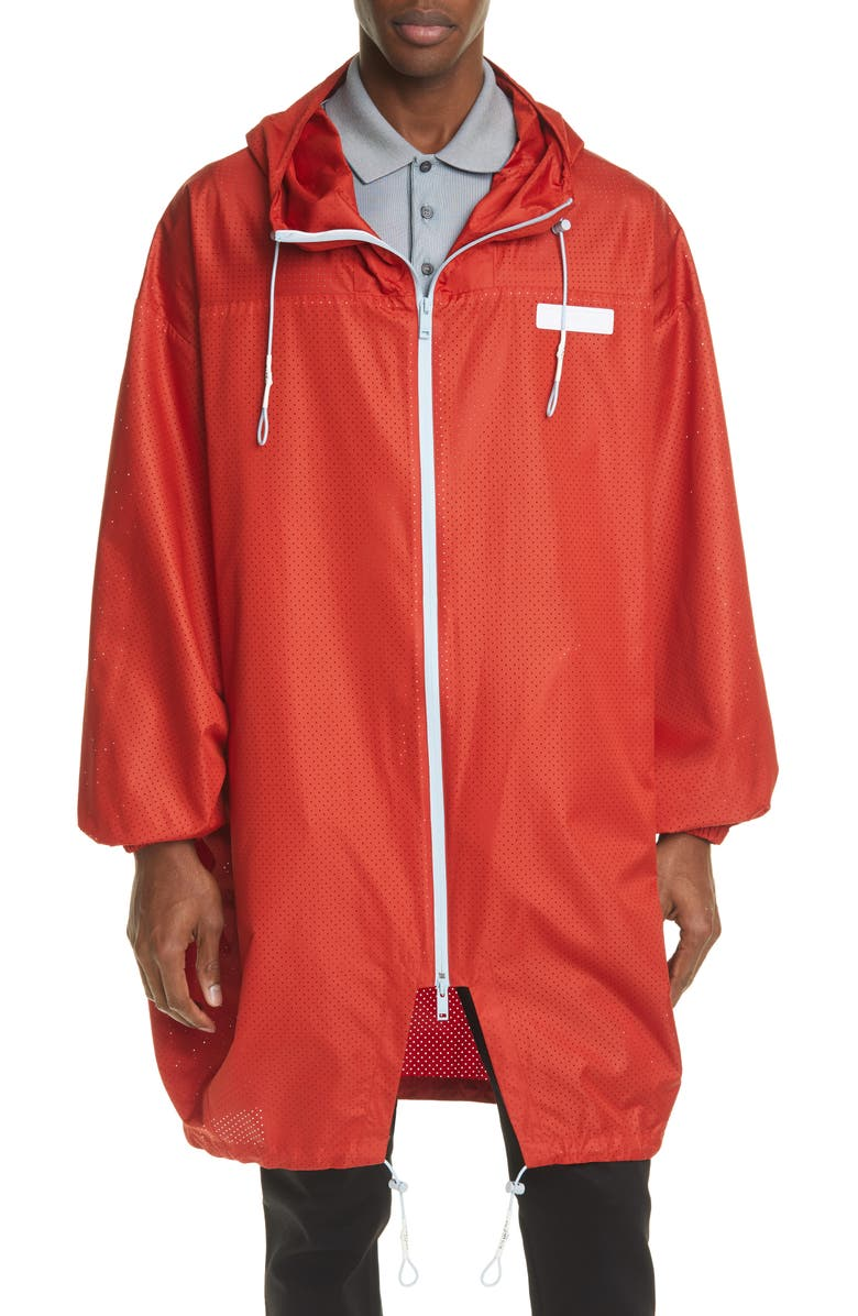 GIVENCHY Bubble Parka, Main, color, RED
