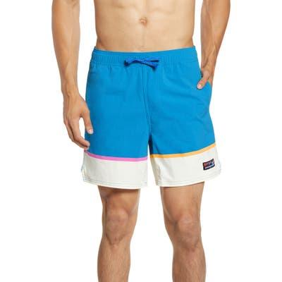 Patagonia Wavefarer Stretch Board Shorts, Blue