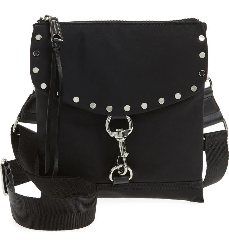 b5e795898 Rebecca Minkoff Nylon Flap Crossbody Bag | Nordstrom