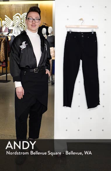 Step Hem Crop Flare Jeans, sales video thumbnail