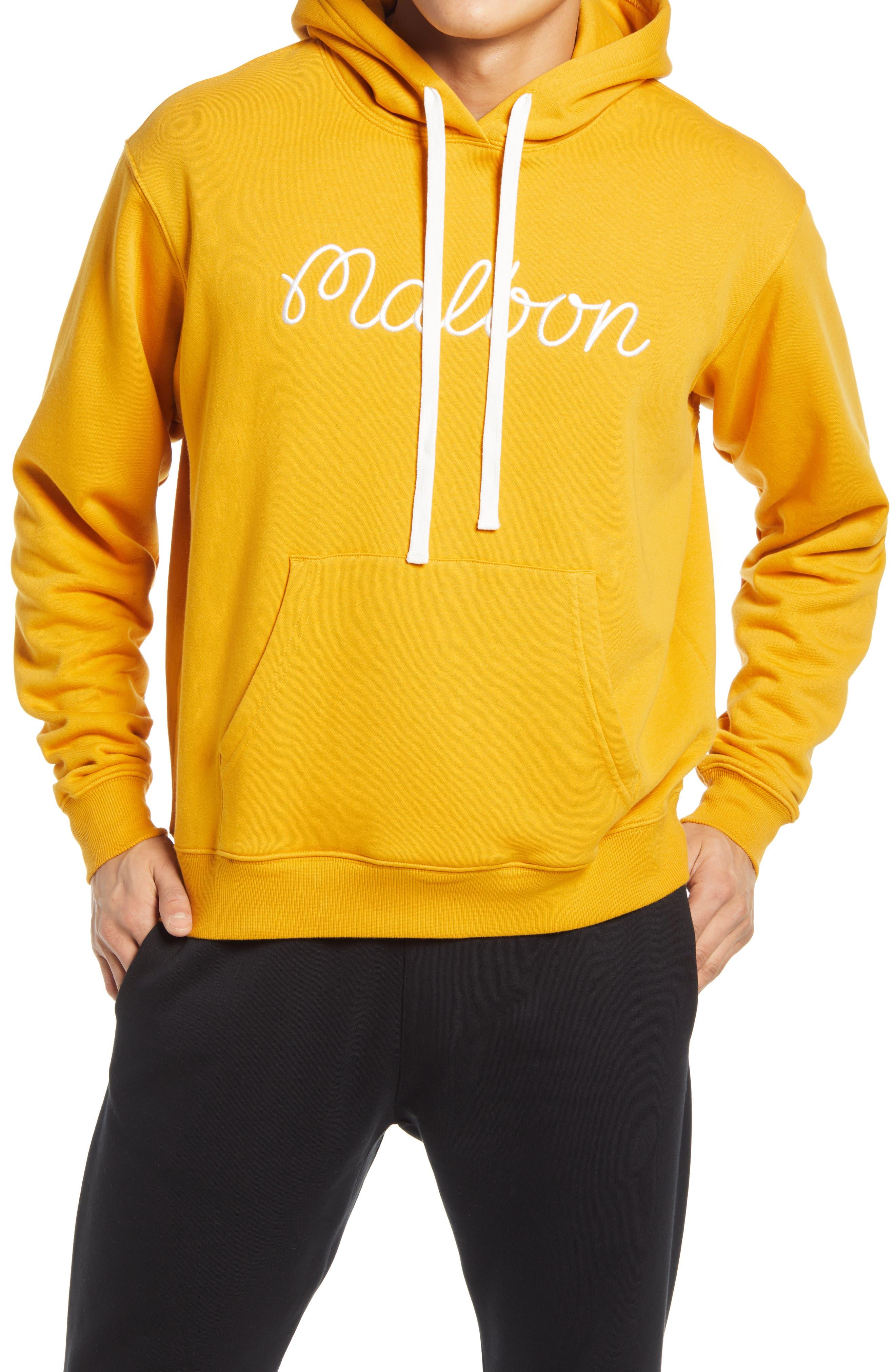 Men's Bon Logo Embroidered Hoodie