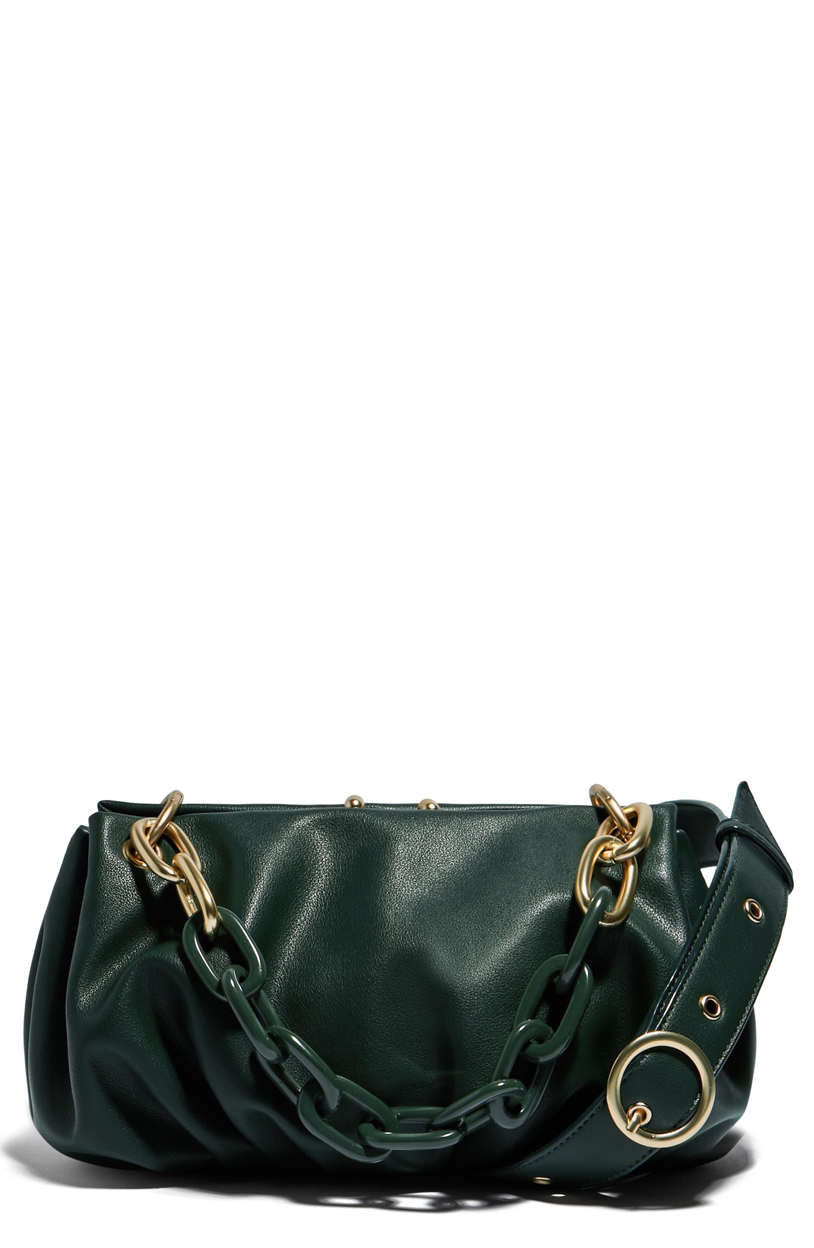 H.O.W. We Stroll Vegan Leather Crossbody Bag