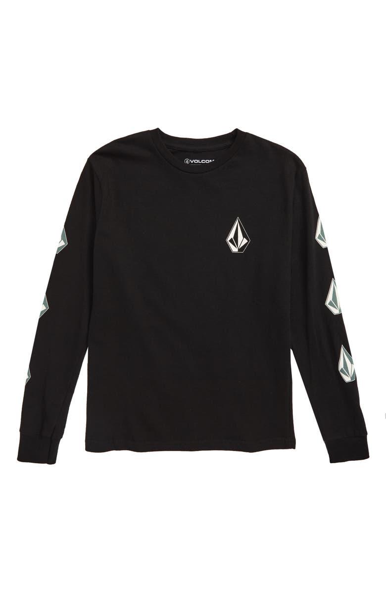 VOLCOM Deadly Stones T-Shirt, Main, color, 015