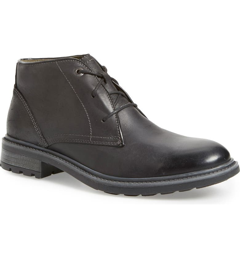 JOSEF SEIBEL 'Oscar 11' Chukka Boot, Main, color, BLACK