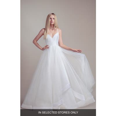 Blush By Hayley Paige Drai Tulle Wedding Dress