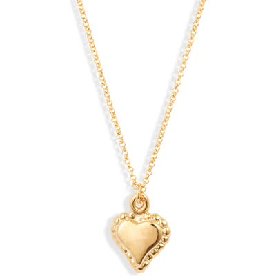 Lux Divine Heart Pendant Necklace