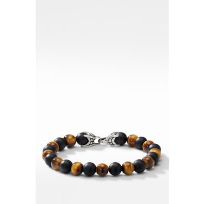 David Yurman Spiritual Beads Bracelet With Black Onyx And Tigers Eye
