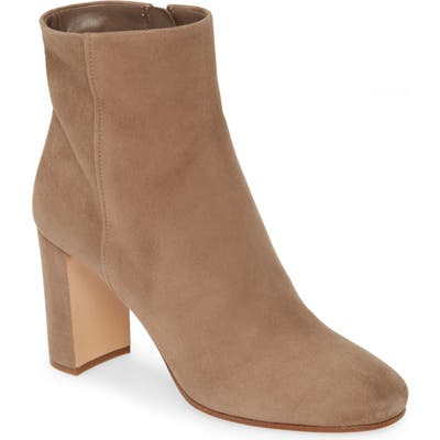 Prada Block Heel Bootie - Brown (Nordstrom Exclusive)
