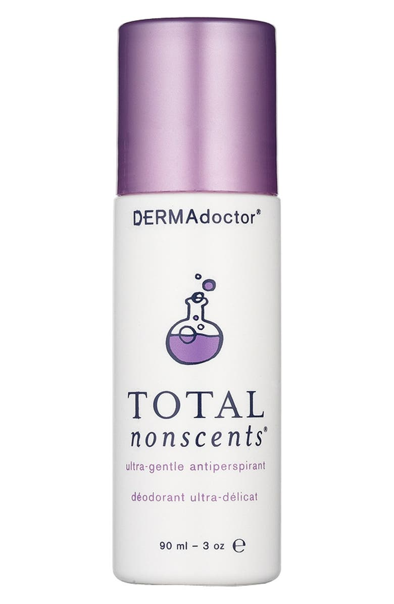 DERMADOCTOR<SUP>®</SUP> 'Total Nonscents<sup>®</sup>' Ultra-Gentle Antiperspirant, Main, color, NO COLOR