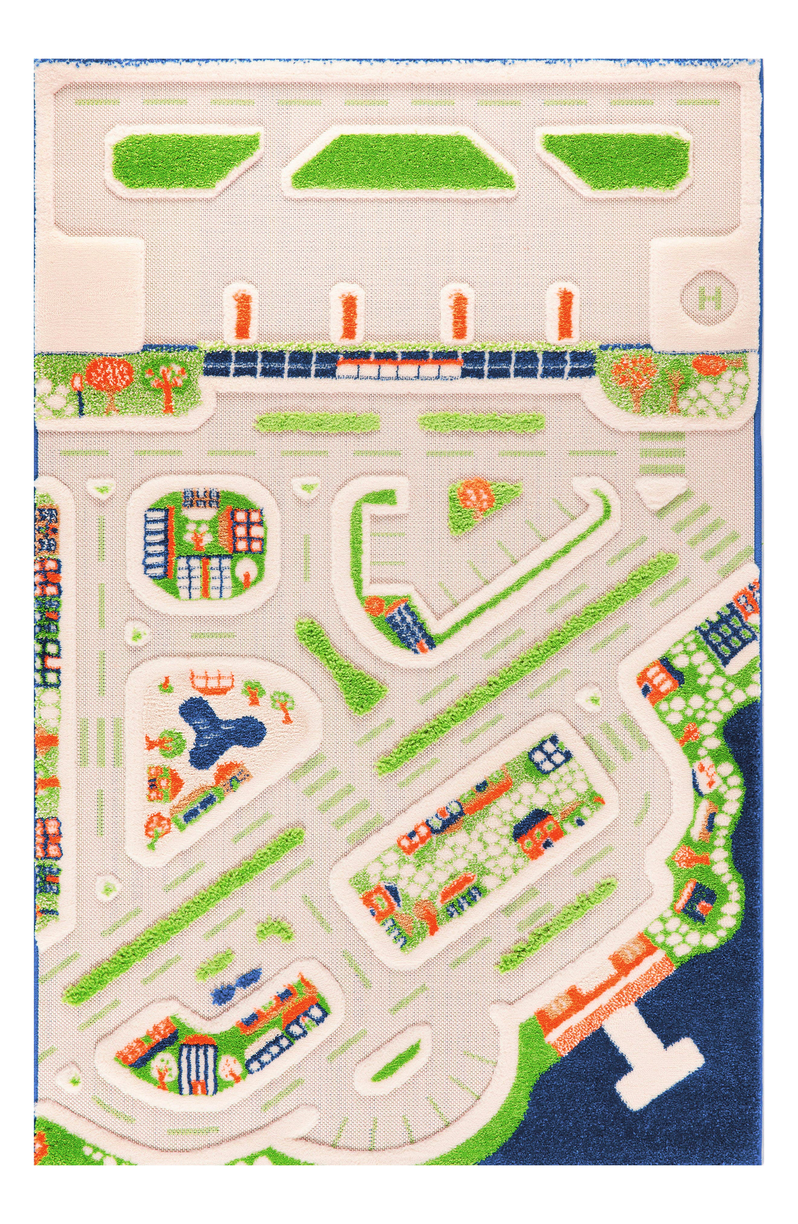 Toddler Luca And Co Mini City Play Rug