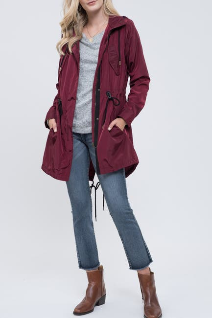 Image of Blu Pepper Mid-Length Utility Jacket