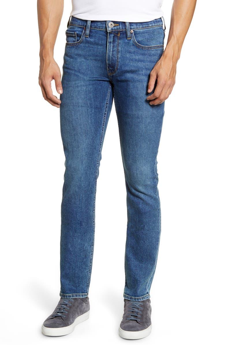 PAIGE Lennox Slim Fit Jeans, Main, color, CHRISTIAN