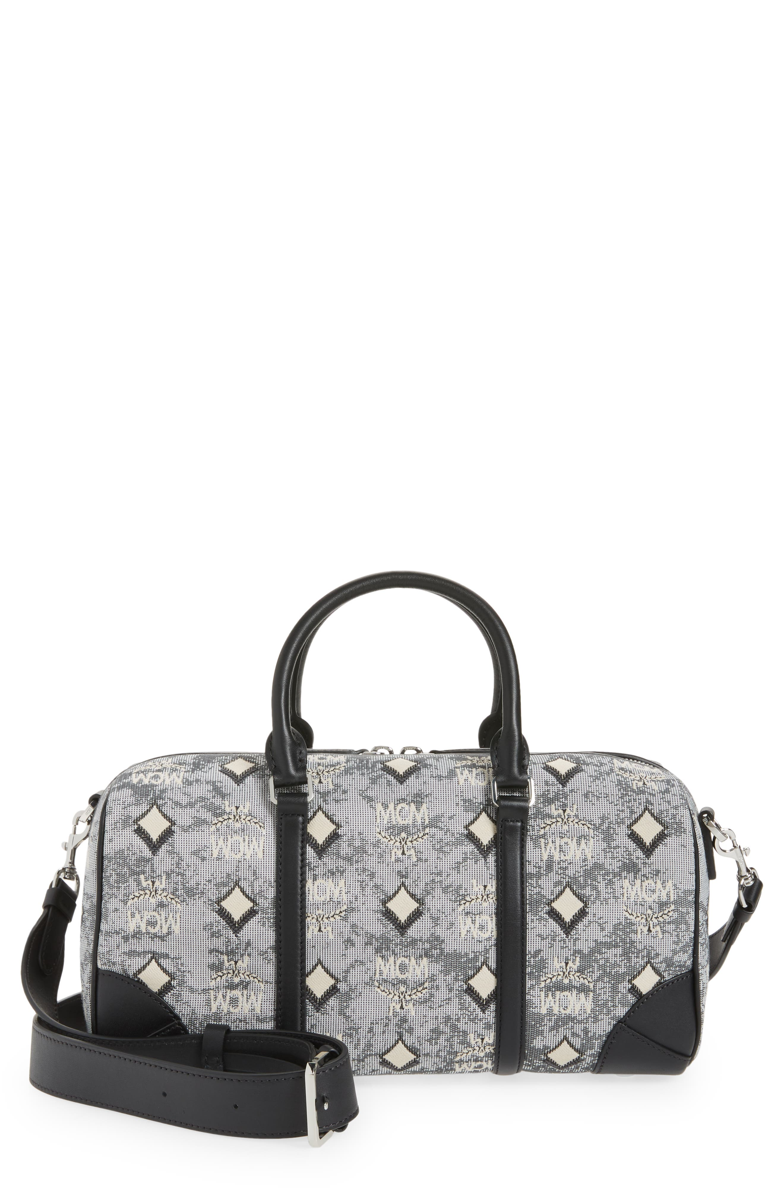 Boston Vintage Jacquard Small Duffle Bag