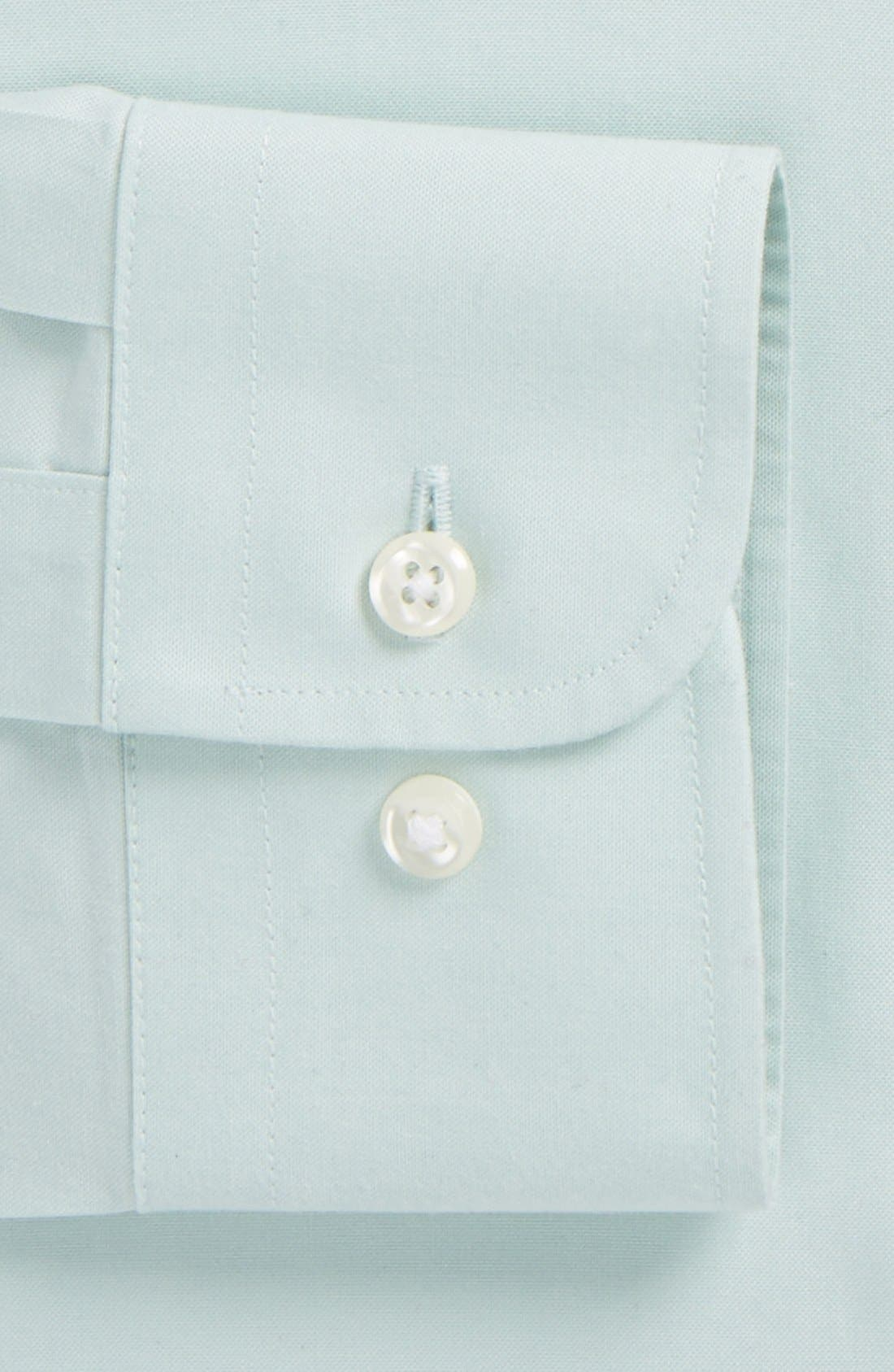 ,                             Smartcare<sup>™</sup> Trim Fit Solid Dress Shirt,                             Alternate thumbnail 9, color,                             020
