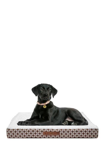 Image of Duck River Textile Dalton Chain Gate Medium Orthopedic Memory Foam Pet Bed