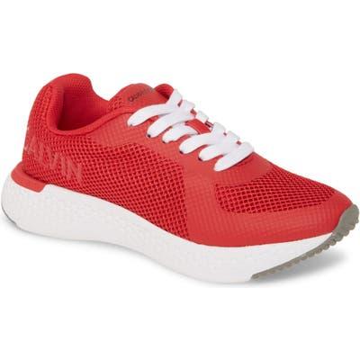 Calvin Klein Jeans Alma Sneaker, Red