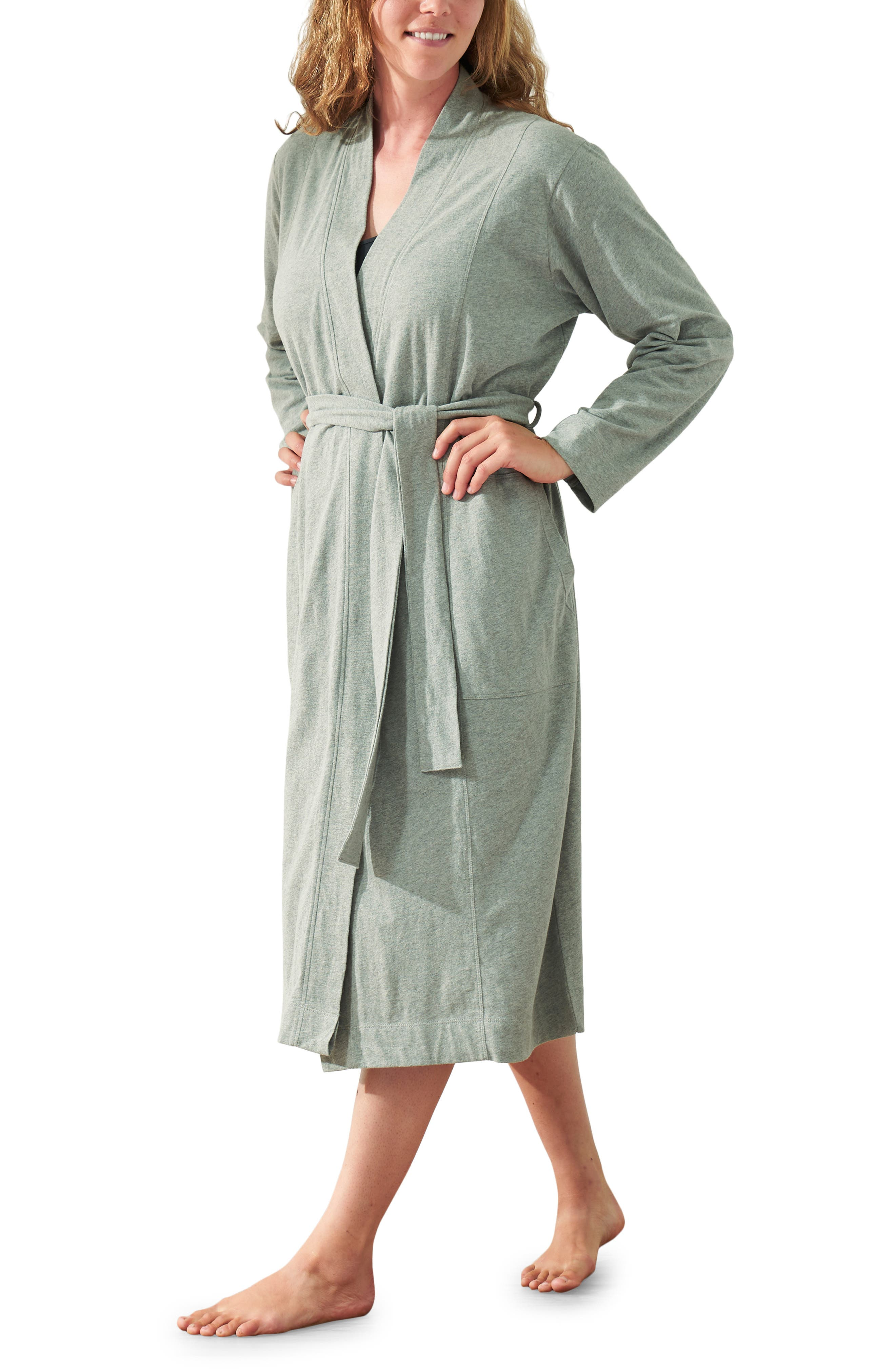 Solstice Organic Cotton Jersey Relaxed Robe