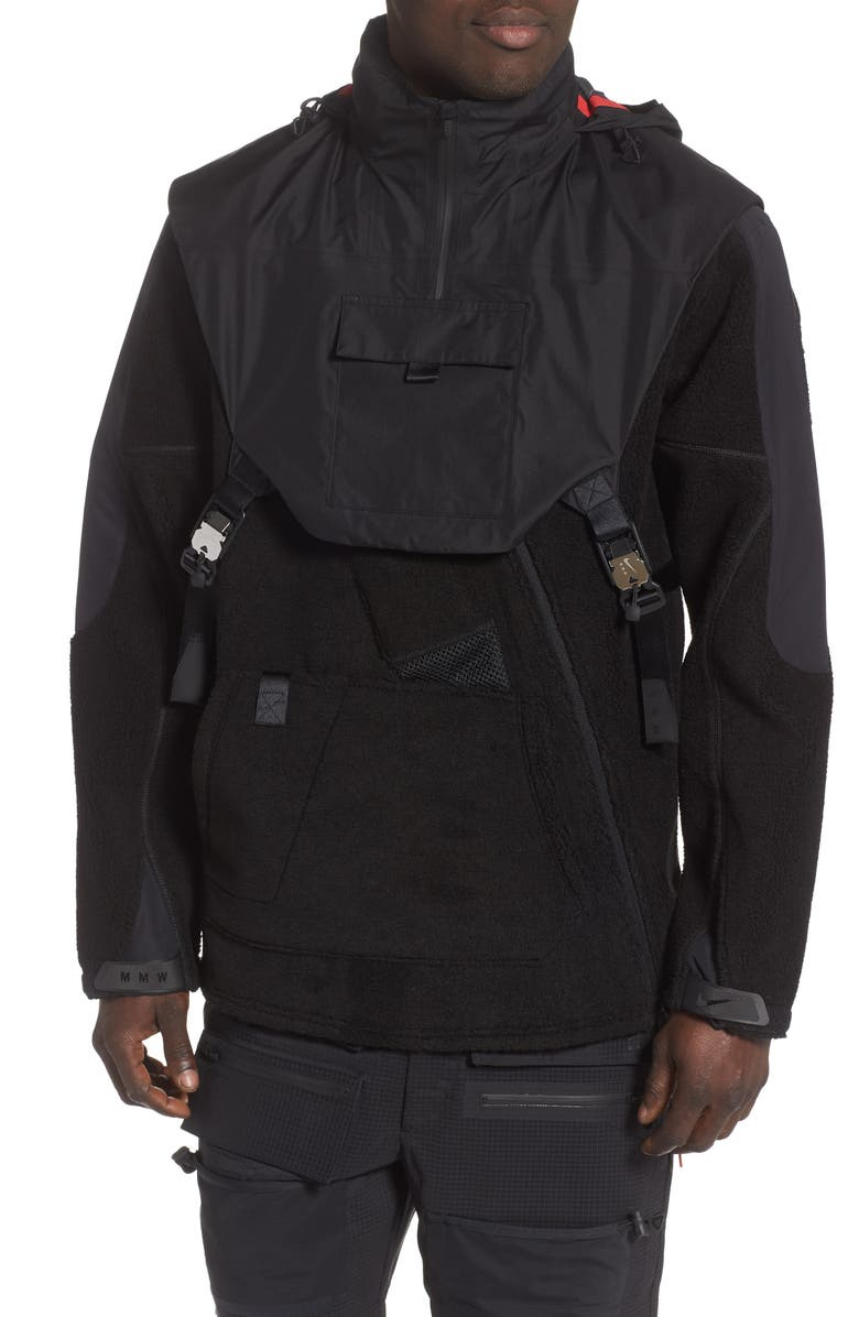 Nike x MMW NRG 2 Piece Hooded Fleece Jacket | Nordstrom