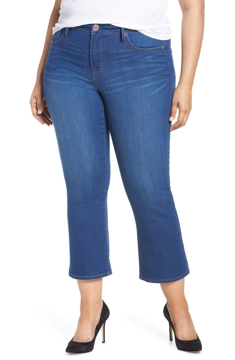 SEVEN7 Bootcut Crop Jeans, Main, color, MARINE