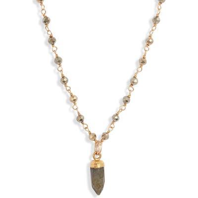 Mend Smoky Quartz Pendant Necklace