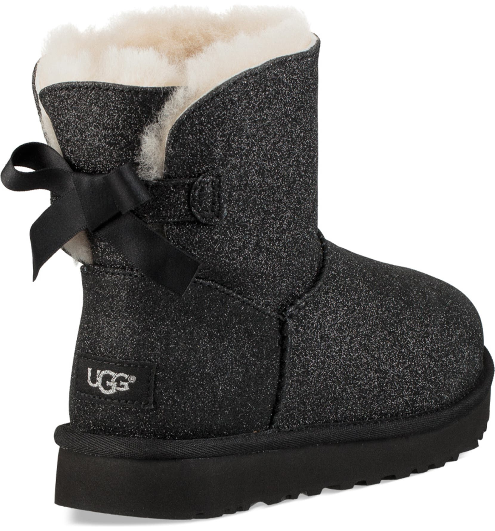5c9ec8420d1 Mini Bailey Bow Sparkle Genuine Shearling Boot